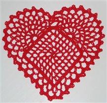 салфетка 'Сердце'