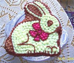 Торт-заяц