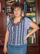 Вариация на тему блузки со спущенными рукавами