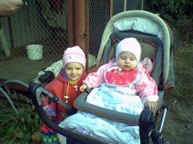 МЫ с сестричкой Нелей