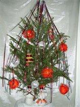 Вот такая у нас новогодняя  елочка