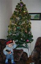 'Солдатская' новогодняя елка
