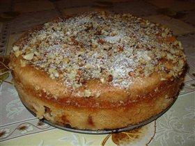 'Мокрый' яблочный пирог