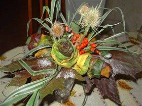 Букет из кленовых листьев 2