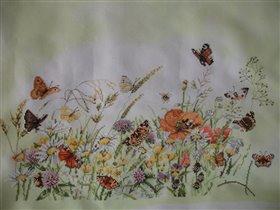 Цветы и бабочки от Ланарте