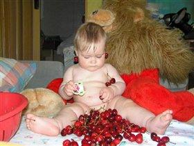 Очень люблю черешню!!!