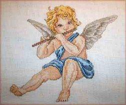 Ангел в синем