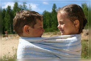 Миша и Лиза (4,8 и 5 лет)