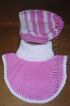 Зимний комплект для девочки 1-2 лет