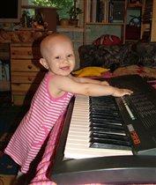 Будущая пианистка