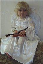 Ангел и скрипка.