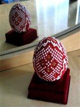 Бисерное яйцо 'Царское'