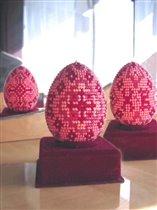 Бисерное яичко на пасху 2005г.