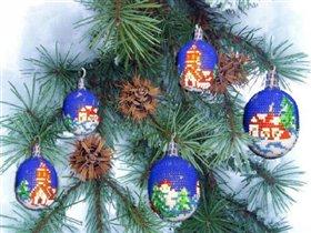 Ёлочное украшение 'Рождественская ночь'