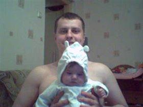 Я и папа