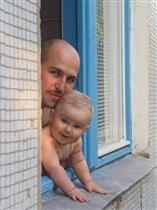 Когда папа рядом мне ничего не страшно!