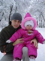 Зимняя сказка и папа