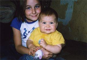 Мы с сестренкой