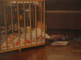Страстная тяга к чтению проявилась еще в младенческом возрасте :)