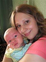 Иришка с мамочкой