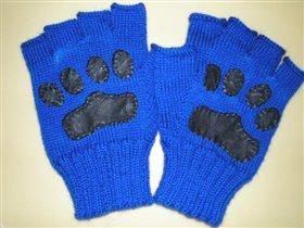 Перчатки для мужа.