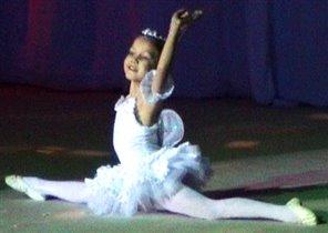 Ляйсян юная балерина
