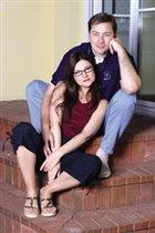 Артурас Зуокас с женой Агне.