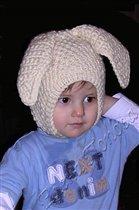 Заячья шапка для внука