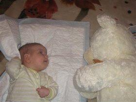 Стася и медведь