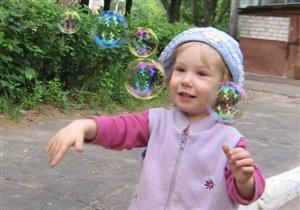 Лови пузыри!