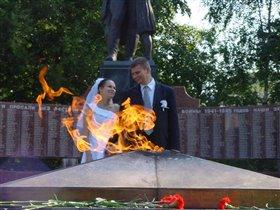 вечный огонь любви