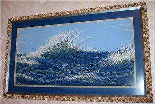 Волна по схеме Риолис.