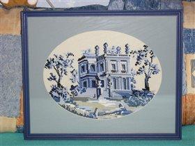 Замок в голубом