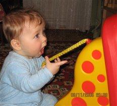Вот такая вот игра - кушать хвост у верблюда.