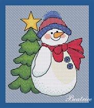 Счастливый Снеговичок