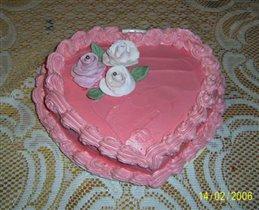 Торт к дню св.Валентина