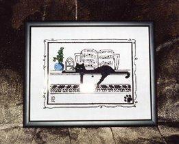 Кот на рояле