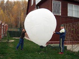 Первые испытания МоНеТа - октябрь 2005