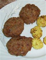 Котлеты с мясом и гречкой