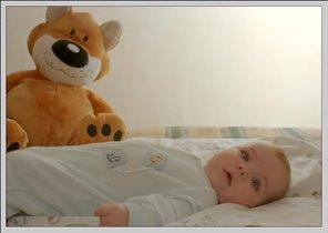 Малышулина с другом:-)