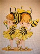 Малышки-пчелки Pinn