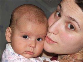 Моя доча:)