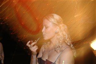 вообще то я не курю...