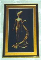 Девушка с павлином (Золотое Руно)