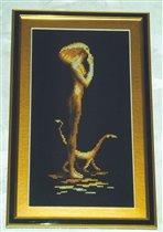 Девушка с кошкой (Золотое Руно)