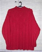 Красный свитер (ангора)