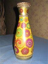 Еще одна бывшая бутылочка из под молдавского вина.