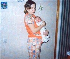 Самые сладкие сны на руках у мамочки!!!
