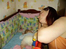 'Мамочка, я сплю...'