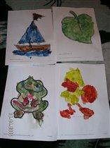 Сашины рисунки